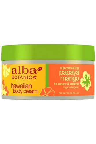 Alba Botanica Natural Hawaiian Rejuvenating Papaya Mango Body Cream - Alba Botanica крем для тела с экстрактами папайи и манго